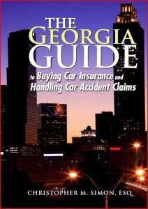 Georgia Car Accident Book Cover
